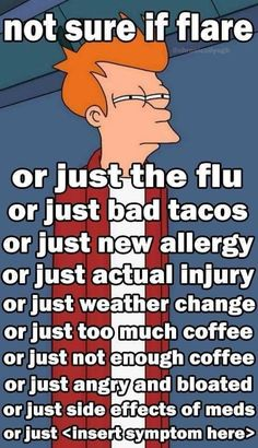 Yes! And people wonder why I don't jump up and go to the ER right away when something happens.