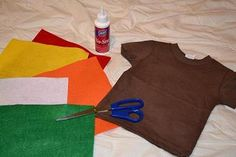 DIY Cute & Easy Turkey Thanksgiving Day Day Shirt for Kids, or Onesie for Babies!