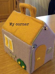 Casetta per bambole, tutorial - Doll's house, tutorial