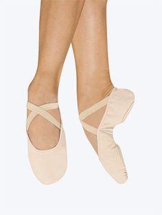 """""""Pro-Arch"""" Adult Split-Sole Canvas Ballet Slipper - Style No S0271L"""