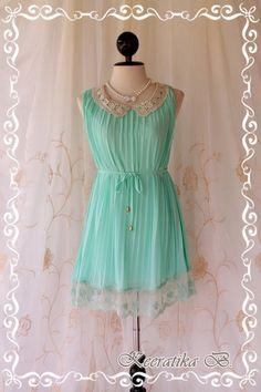 pastel mint dress!