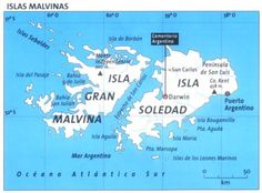 Islas Malvinas (Argentina) - Falkland Islands (UK)