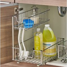 Gorgeous Kitchen Organization Ideas For Your Kitchen. Gorgeous Kitchen Organization Ideas For Your Kitchen. - Pantry With Organization Kitchen Under Sink Storage, Diy Kitchen Storage, Kitchen Cabinet Organization, Home Organization, Under Sink Organization Bathroom, Cabinet Ideas, Organize Under Sink, Apartment Kitchen Storage Ideas, Bathroom Under Sink Cabinet