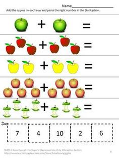 KINDERGARTEN MATH - TeachersPayTeachers.com