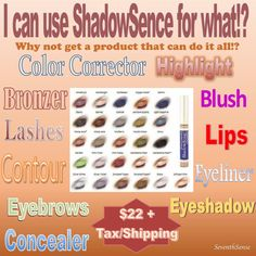 ShadowSense by SeneGence Best eyeshadow ever!  ID #186044