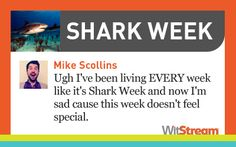 Shark Week -- Mike Scollins