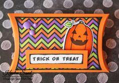 YNS Supplies:  Halloween Pumpkins | Halloween Pumpkins Die Set | Pillow Box Die |Spellbound Gumdrops