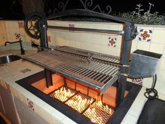 Custom Santa Maria BBQ's by LeasureConcepts on Etsy