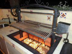 Custom Santa Maria BBQ's por LeasureConcepts en Etsy