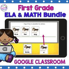 Teach using this Digital Google Classroom resource including movable answers. Master fractions, fact families, telling time, base ten, number bonds and sentence building PLUS Digital BOOM CARDS BONUS! #GoogleClassroom1stgrade Regardless of whether you have one or a whole set of iPads, Chromebooks or...