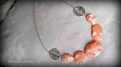 Necklace  Spring time. $30.00, via Etsy.