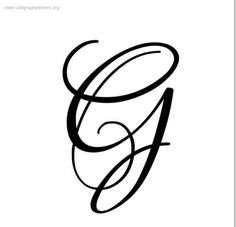 g letter g calligraphy fancy letters monogram letters cool lettering hand lettering