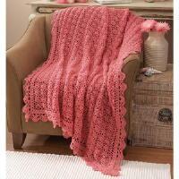Herrschners®  Adeline Lace Crochet Afghan Kit