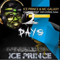 3 Days to go!!! Friday 31st Oct! The Biggest Halloween Party In Dubai! Get your costumes ready! special prizes to be won for the 3 best Costumes! Party with @IcePrinceZamani & @RealMcGalaxy. For Vip table booking call: +971 (0) 43372265, +971 (0) 562638299, (+971) 050 214 3895 #Turnuplikenoother #turnup #kizadubai#halloween #dubai #africa #africanparty #oct31 #party#doroparty #kizaloungeandrestaurant #okokobioko#sekem #shoki