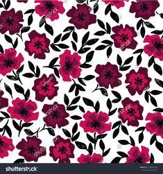 spring flower pattern Spring Flowers, Flower Patterns, Prints, Image, Doodle Flowers, Floral Patterns, Spring Colors