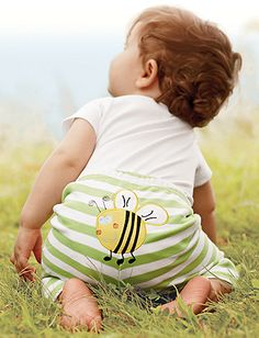 Hanna Andersson's winter collection is cuter, but this little baby bum is still so cutie.