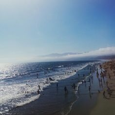 I fell in love with Santa Monica