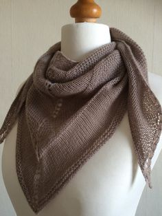 Hand Knitted Merino Scarf Shawl Made to Order by Snugglescuddles