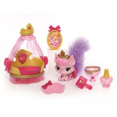 """Disney Princess Palace Pets Beauty & Bliss Playsets - Aurora's Kitty Beauty - Blip Toys - Toys""""R""""Us.got this for lenessa Toddler Toys, Baby Toys, Kids Toys, Princess Palace Pets, Beauty Products Gifts, Disney Toys, Disney Princess Toys, Disney Gift, Alice"""