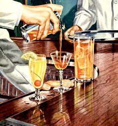 Roger Wilkerson, The Suburban Legend.: Photo Vintage cocktails