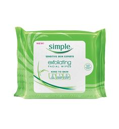 20 Best Beauty Buys Under $50    The Wipes    Found in every model's makeup bag, these wipes remove dirt, oil, and makeup and leave skin smooth and clear.     SHOP NOW: Simple Exfoliating Facial Wipes, $6