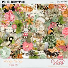 Wings Things [Page Kit] By Vero