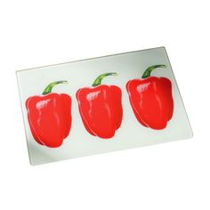 Premier Housewares Red Chopping Board – 1203451 – Add a touch of warmth and luxury to your home with the red collection of homeware and cookware from Premier Housewares, a leading supplier and distributor to the retail trade of kitchenware, tabletop & bathroom accessories, soft furnishings, decorative accessories, lighting and occasional furniture. Purchase from a host of online stores and independent local retailers and please visit http://www.premierhousewares.co.uk for trade enquiries.