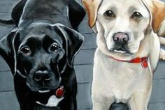 Pet Portraits by Claire Dunaway - A Georgia artist