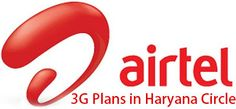 Airtel 3G Plans in Haryana for Dongles and Smartphones