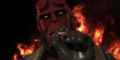 Hellboy arrives to slap down the Right Hand of Doom in Injustice 2