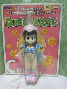 NEW Dragon Ball Z Chi Chi Collectable Sofvi Soft Vinyl Figure 1 Banpresto Rare