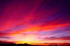 Painted Sunset by QQQQcon, via Flickr