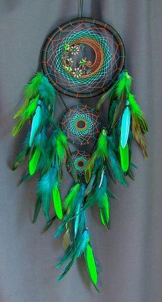Atrapasueños Dreamcatcher Boho estilo atrapasueños grande