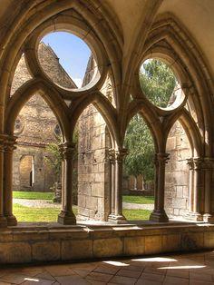 Noirlac Abbey by Marielou Dhumez