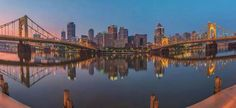 A truly unique city....so picturesque...PITTSBURGH,PA