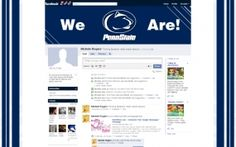Penn State Facebook Layouts, Penn State Facebook Themes, Penn State Facebook…