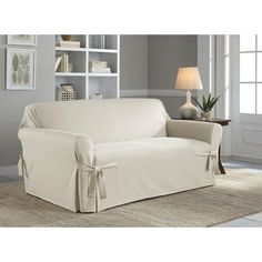 """Wayfair """"Duck"""" loveset slipcover.  Other colors available. $78.99"""