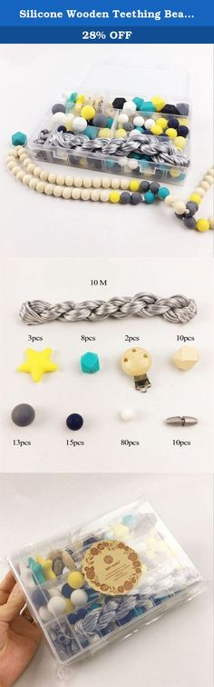 Silicone Wooden Teething Beads Nursing Necklace DIY Silicone Teething Kit Geometric Hexagon Silicone Wood Beads Teething Necklace Baby Teether Toys. Welcome To Mamimami home. About Our Products: 1.Our wooden teether have passed CE/EN71-3/EN71-2 certificate. 2.Our silicone teether have passed CE /FDA /BPA FREE/EN71-3/Australian standard certificate. Attention: 1.All toys are made of natural materials and are safe for babies and children. But please don't leave your child unattended with…
