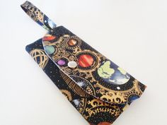 unique woman wallet solar system theme  by CountingTreasures