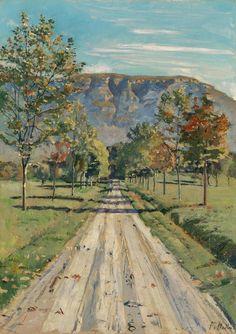 Ferdinand Hodler (1853–1918) - The Street to Evordes