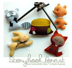 NEW STORYBOOK FOREST Baby Mobile Artist Choice by GiftsDefine