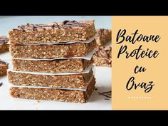 Batoane proteice cu ovaz! - YouTube Cakes And More, Raw Vegan, Youtube, Desserts, Food, Tailgate Desserts, Deserts, Essen, Postres