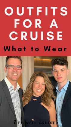The ultimate guide for what to wear on a cruise, in the Caribbean, Alaska, Europe and more! Here are cruise tips you need for getting ready for your cruise, and planning your cruise outfits based on dress codes and real life experience on cruises