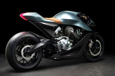 Only 100 of the new hand-built AMB 001 by Aston Martin and Brough Superior will be made. It was launched on Tuesday morning at the EICMA motorcycle show in Milan and will arrive next year. Stirling, Aston Martin Cars, Aston Martin Vanquish, Motorcycle Manufacturers, Car Manufacturers, Martin S, British Sports, Black Wheels, Motorcycle Design