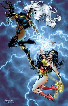 Wonder Woman vs Storm More @ http://pinterest.com/ingestorm/comic-art-storm & http://pinterest.com/ingestorm/comic-art-x-men & http://groups.yahoo.com/group/Dawn_and_X_Women & http://groups.google.com/group/Comics-Strips & http://groups.yahoo.com/group/ComicsStrips & http://www.facebook.com/ComicsFantasy & http://www.facebook.com/groups/ArtandStuff