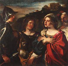 Guercino - Abigail Meeting David