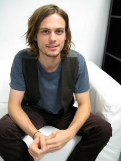 I think he's the only guy that I would ever think is still hot with long hair! So marry me already ;P