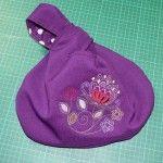 DIY: Japanese knot / loop bag pattern with tutorial #sewing #bags #studiopaars