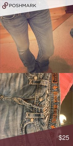 Rock revival jeans size 24 Jeweled front and back great condition Jeans Boot Cut