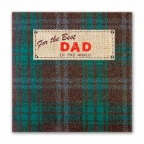 For the Best Dad Happy Birthday Card